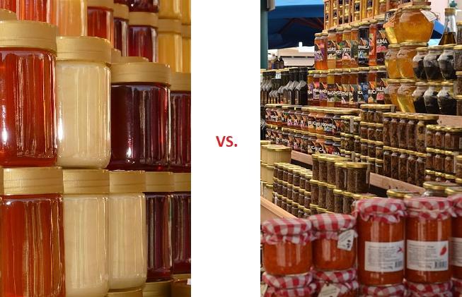 MED přímo od včelaře vs. MED z marketu