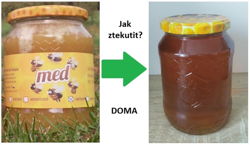 Ztekucování či rozehřátí medu v domácím prostředí