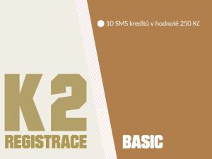 K2 registrace - BASIC